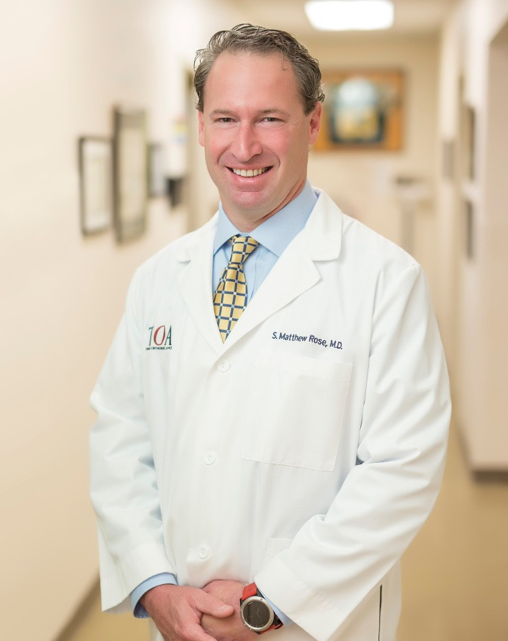 S  Matthew Rose MD Physician | Tennessee Orthopaedic Alliance