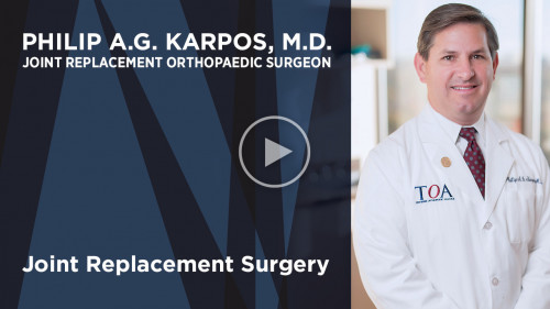 Dr. Philip A.G. Karpos on joint replacement