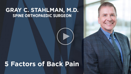 Dr. Gray on Back Pain