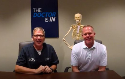 """The Doctor Is In"" with Dr. Gray Stahlman & Dr. Matthew Willis - Common Sports Injuries of the Shoulder"